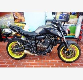 2018 Yamaha MT-07 for sale 200806798