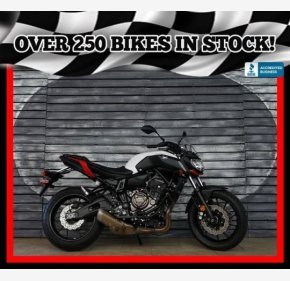 2018 Yamaha MT-07 for sale 200886078