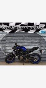 2018 Yamaha MT-07 for sale 200942810