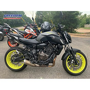 2018 Yamaha MT-07 for sale 200942994
