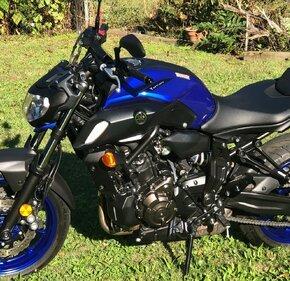 2018 Yamaha MT-07 for sale 200991548