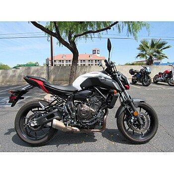 2018 Yamaha MT-07 for sale 201071440