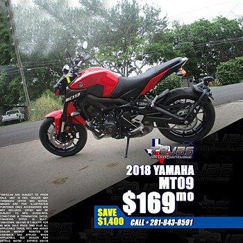 2018 Yamaha MT-09 for sale 200584575