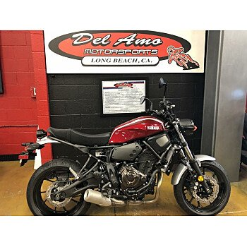 2018 Yamaha XSR700 for sale 200714531