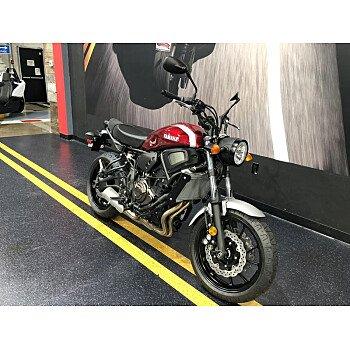 2018 Yamaha XSR700 for sale 200516212