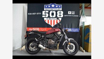 2018 Yamaha XSR700 for sale 200917851
