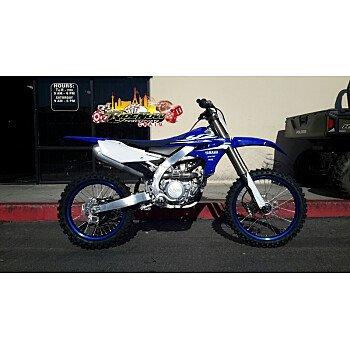 2018 Yamaha YZ450F for sale 200572414