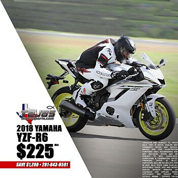 2018 Yamaha YZF-R6 for sale 200584539