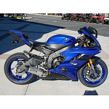 2018 Yamaha YZF-R6 for sale 200601839