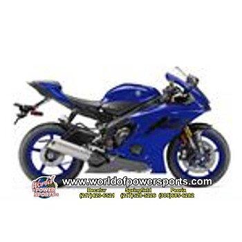 2018 Yamaha YZF-R6 for sale 200637108