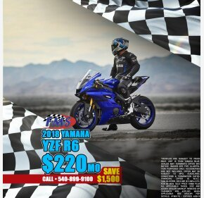 2018 Yamaha YZF-R6 for sale 200641656