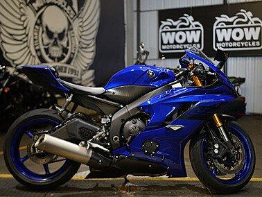 2018 Yamaha YZF-R6 for sale 200920094