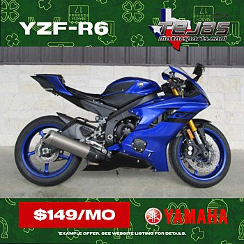 2018 Yamaha YZF-R6 for sale 201026207