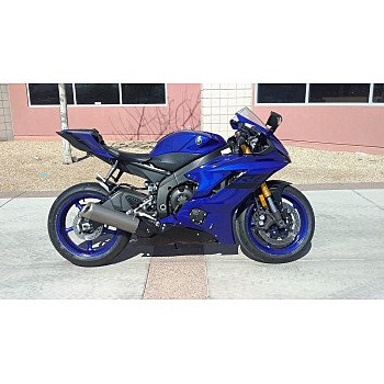 2018 Yamaha YZF-R6 for sale 201065586