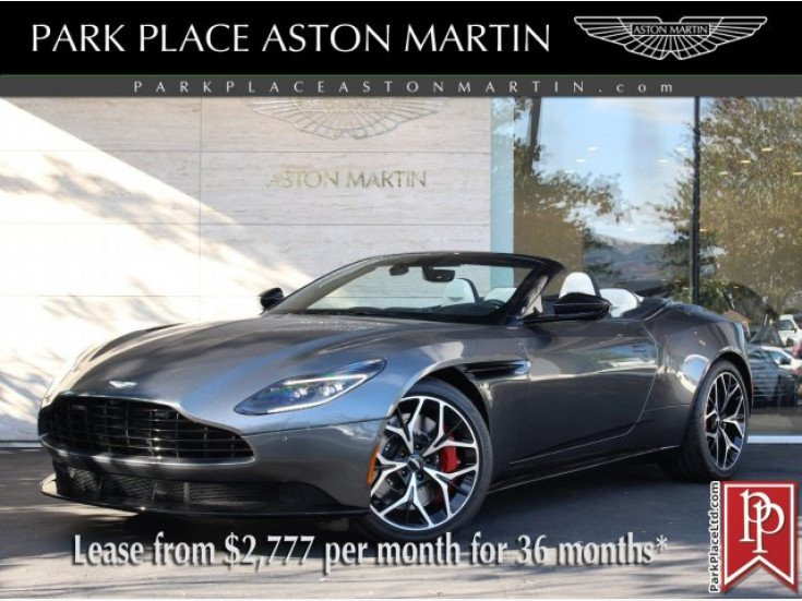 2019 Aston Martin Db11 Volante For Sale Near Bellevue Washington