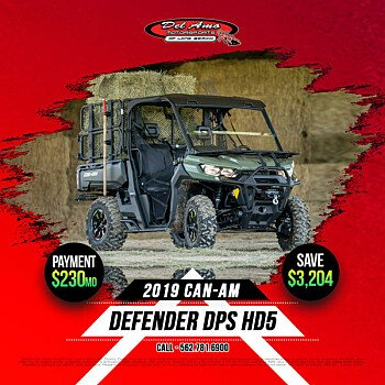 2019 Can-Am Defender HD5 for sale 200731221