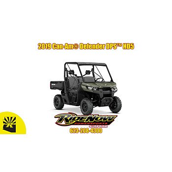 2019 Can-Am Defender HD5 for sale 200765637