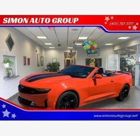 2019 Chevrolet Camaro for sale 101118302