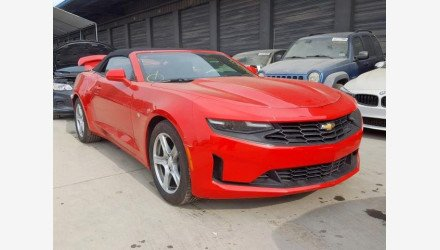 2019 Chevrolet Camaro Convertible for sale 101270450