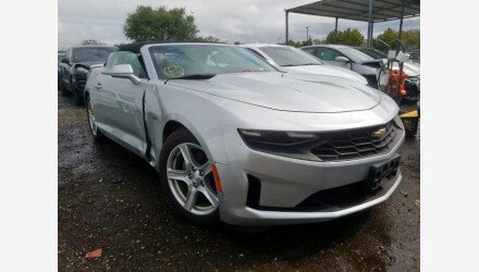 2019 Chevrolet Camaro Convertible for sale 101309846