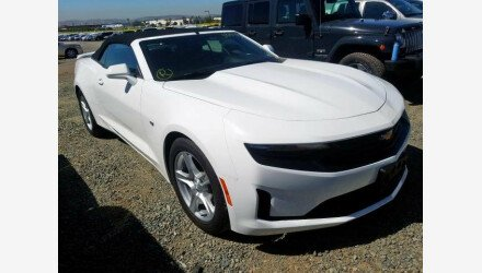 2019 Chevrolet Camaro Convertible for sale 101322864