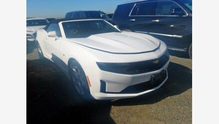2019 Chevrolet Camaro Convertible for sale 101330519