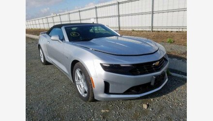 2019 Chevrolet Camaro Convertible for sale 101330520