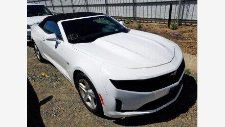 2019 Chevrolet Camaro Convertible for sale 101331262