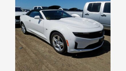 2019 Chevrolet Camaro Convertible for sale 101331263