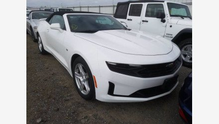 2019 Chevrolet Camaro Convertible for sale 101336660