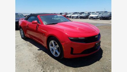 2019 Chevrolet Camaro Convertible for sale 101339745
