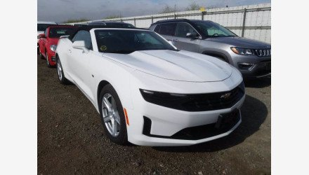 2019 Chevrolet Camaro Convertible for sale 101339790