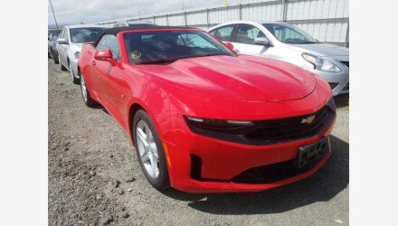 2019 Chevrolet Camaro Convertible for sale 101339799