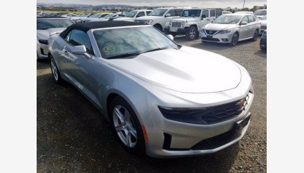2019 Chevrolet Camaro Convertible for sale 101344561