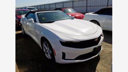 2019 Chevrolet Camaro Convertible for sale 101344562