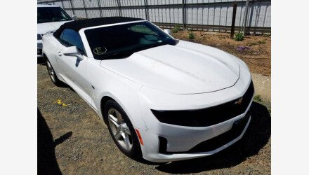 2019 Chevrolet Camaro Convertible for sale 101346531