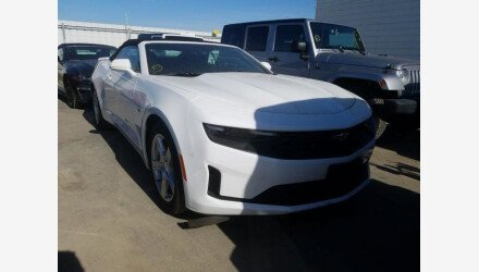 2019 Chevrolet Camaro Convertible for sale 101359623