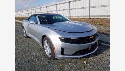 2019 Chevrolet Camaro Convertible for sale 101359624