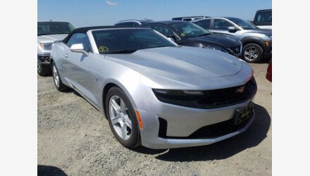 2019 Chevrolet Camaro Convertible for sale 101362579