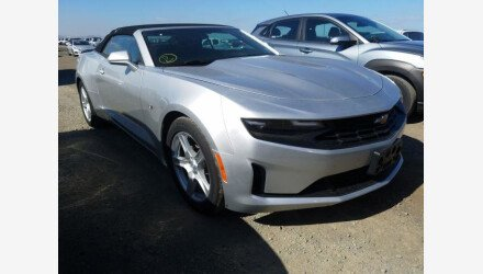 2019 Chevrolet Camaro Convertible for sale 101362583