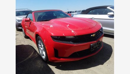 2019 Chevrolet Camaro Convertible for sale 101362584