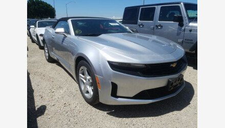 2019 Chevrolet Camaro Convertible for sale 101362595