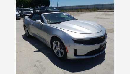 2019 Chevrolet Camaro Convertible for sale 101379047