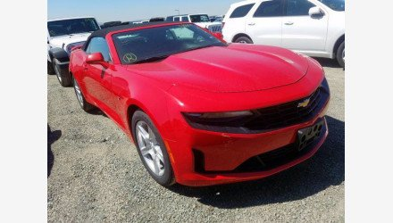2019 Chevrolet Camaro Convertible for sale 101382192