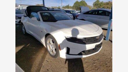 2019 Chevrolet Camaro Convertible for sale 101443400