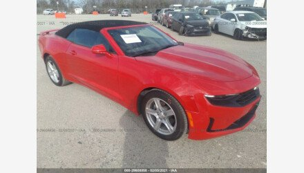 2019 Chevrolet Camaro Convertible for sale 101454850