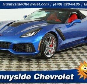 2019 Chevrolet Corvette ZR1 Convertible for sale 101082626
