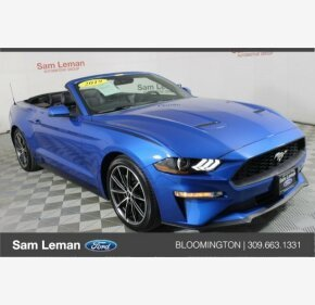 2019 Ford Mustang Convertible for sale 101293609