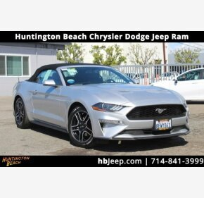 2019 Ford Mustang Convertible for sale 101304078