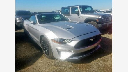 2019 Ford Mustang Convertible for sale 101322910